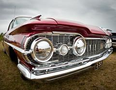 Oldsmobile (Monika Teresa) Tags: summer cars iceland islandia sumar sland selfoss lato blar samochody