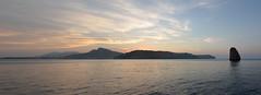 Costa Brava, l'Estartit (Gerard A.) Tags: sunset sea costa island atardecer coast mar nikon catalunya brava islas posta medes estartit illes d7000