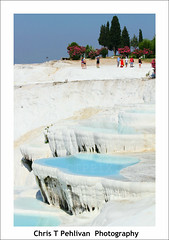 The Travertines of Pamukkale (CTPPIX.com) Tags: voyage trip travel trees summer people nature canon turkey eos tour urlaub turkiye july 7d ctp hieropolis pamukkale denizli turchia 2011 guidedtour traverten cipura ctpehlivan christpehlivan ctppix cipuratur cipuratour