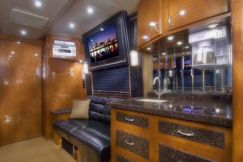Desperado - Front Lounge - facing forward - Galley