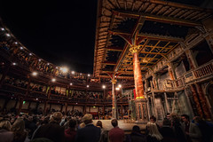 Midnight Hamlet at The Globe (TheFella) Tags: uk greatbritain england slr london night digital photoshop canon eos photo high globe europe play dynamic theatre unitedkingdom stage capital crowd shakespeare william nighttime photograph midnight processing gb 5d dslr range hdr highdynamicrange hamlet southwark theglobe globetheatre markii williamshakespeare postprocessing photomatix 5dmarkii