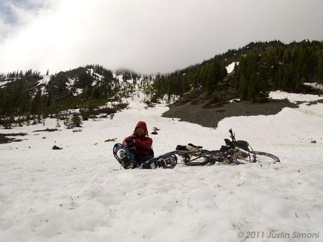 Whitefish Divide, Montana