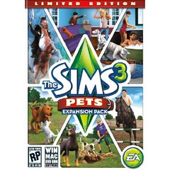 Sims 3 Pets Logo