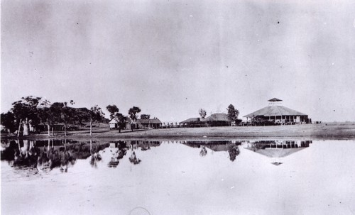 1921 Ivanhoe Stn. and lagoon, Kimberley district, about 50 miles from Wyndham - KHS-2011-15-11-P2-D