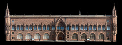 Scottish National Portrait Gallery (itmpa) Tags: composite cutout scotland sandstone edinburgh gallery stitch artgallery gothic architect elevation newtown stitched queenstreet listed refurbished ngs portraitgallery spanishgothic redsandstone scottishnationalportraitgallery nationalgalleriesofscotland pagepark southelevation categoryalisted tomparnell robertrowandanderson itmpa simpsonbrown conservationplan redcorsehillsandstone archhist
