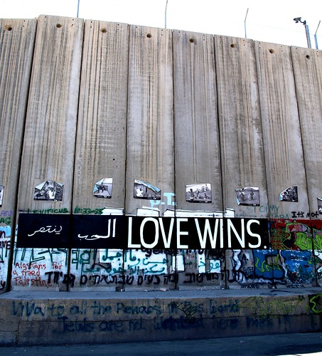 Muro Israel - Love wins