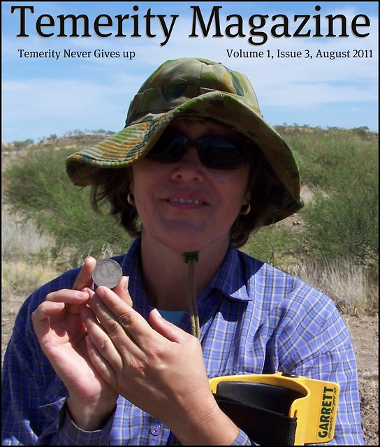 Colleen Makes the Cover of August 2011 Temerity Magazine!