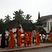 Acordamos 6h para presenciar o ritual dos monges