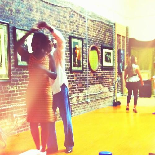 Ballrom dance class