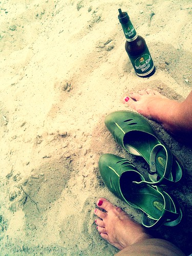shoe per diem july 13, 2011 - berlin beach