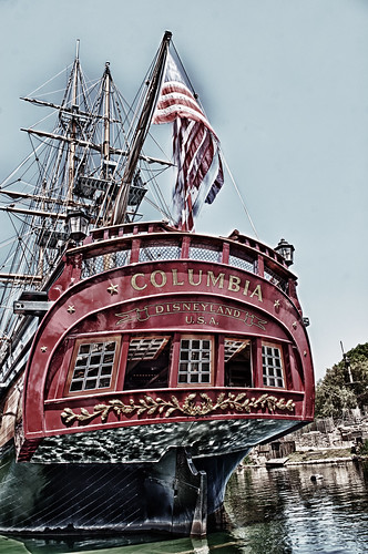 Me Pirate Ship, Columbia by hbmike2000
