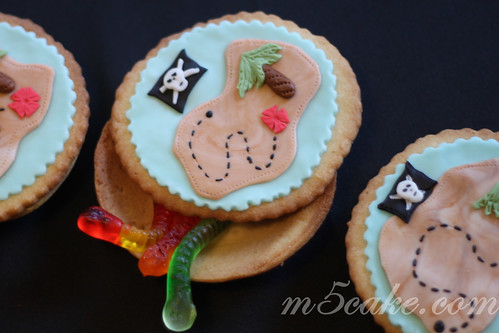 Pirate's buried treasure Island Cookies - 2