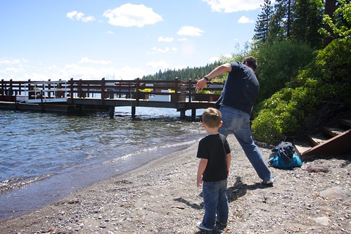 skipping stones with uncle ryan