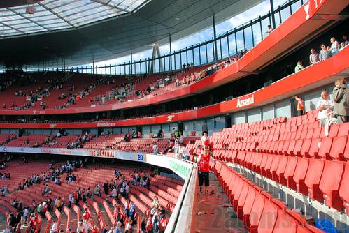 De Club Level zitplaatsen