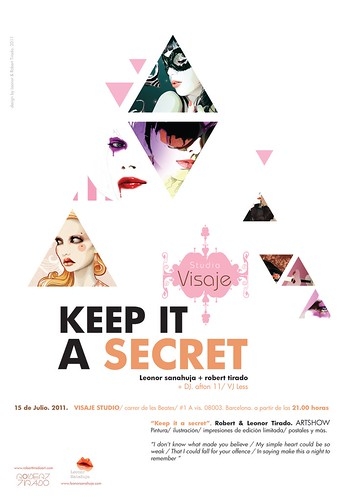 keep it a secret by Leonor Sanahuja