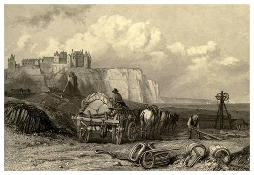 014-Dieppe-Francia-Stanfield's coast scenery…1836- Clarkson Stanfield