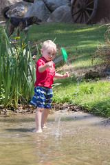Splashing (Craig Dyni) Tags: boy colin finn dyni