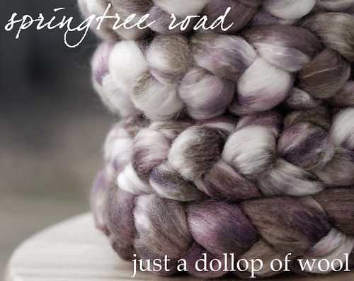 springtree road just a dollop of wool