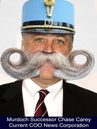 CHASE CAREY, Rumoured Murdoch Successor by Colonel Flick