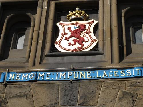 Edinburgh Castle, Nemo Me Impune Lacessit