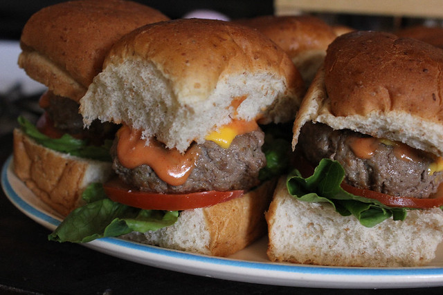 Beef and Beer Sliders