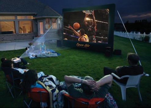 Watch Sporting Events Outdoors