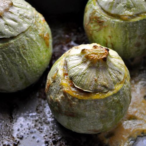 Stuffed Zucchini - Baked 2