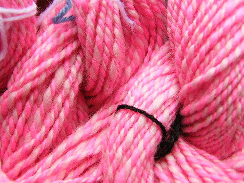 Pink Corriedale - Close-up