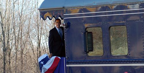 Private Rail Car - Georgia 300 Obama