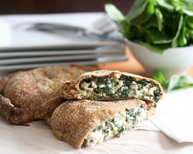 Calzones - Cheezy Spinach Version Recipes — Dishmaps