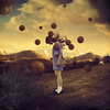 adjusting oxygen levels (brookeshaden) Tags: selfportrait mountains clouds surreal orbs whimsical fineartphotography brookeshaden texturebylesbrumes