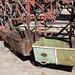 I vagoni che trasportavano minerali e minatori alla La Mejicana a 4700m