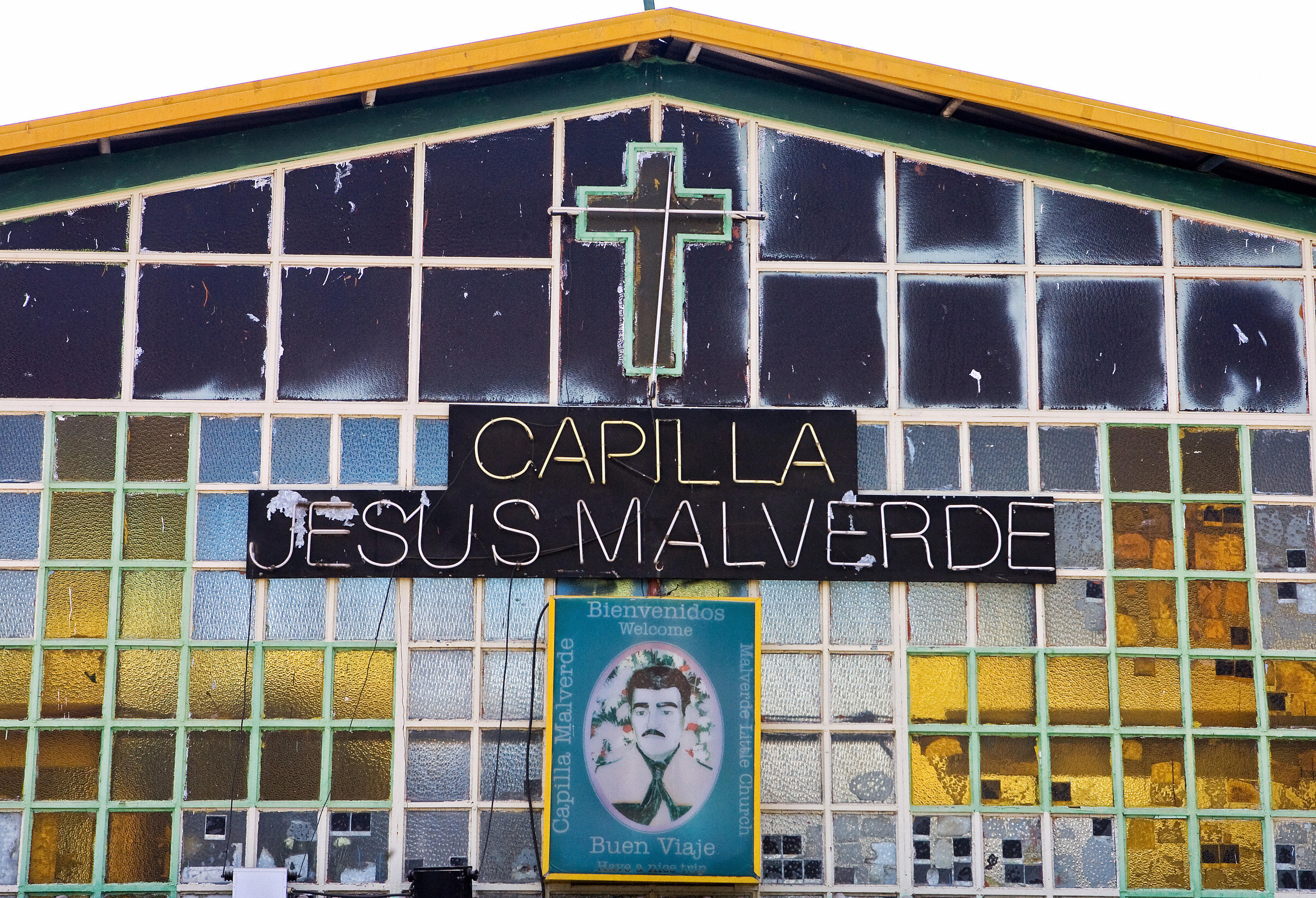 The chapel of the bandit Jesus Malverde