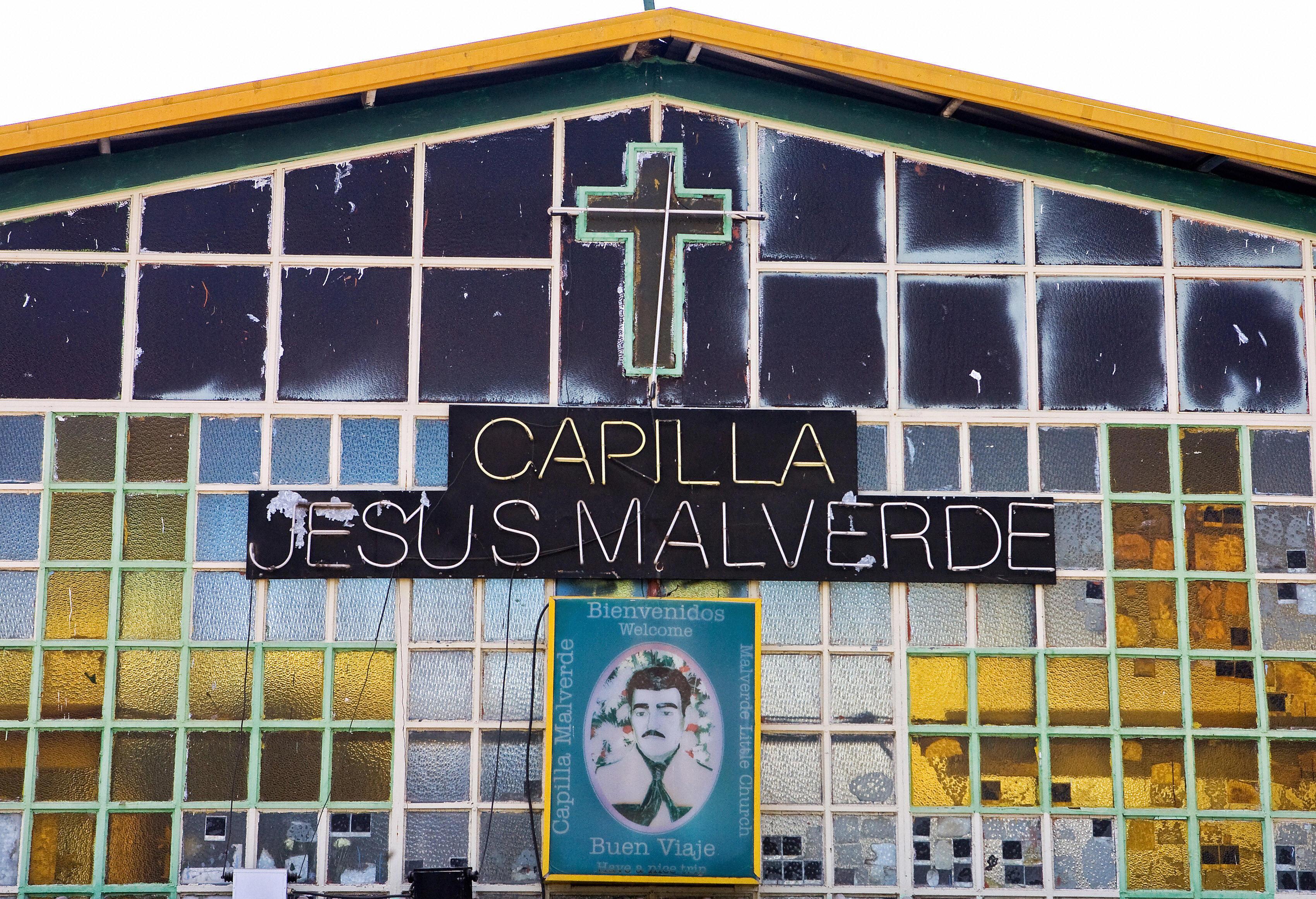 The chapel of the bandit Jesus Malverde