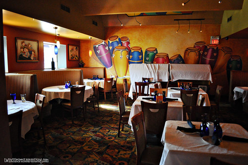 Dining Room at Conga Latin Bistro ~ Minneapolis, MN