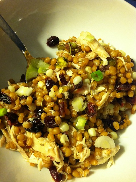Chicken Cranberry Wheat Berry