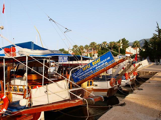 Kas港的遊艇