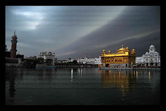 Eternal (Sanjeev Syal) Tags: wallpaper india building beautiful clouds religious pond asia pretty earth religion architect monsoon sacred sikh bunga punjab amritsar gurudwara marvelous sikhism wonders goldentemple guru gurus ramdas sarovar harimandirsahib darbarsahib nanak gobind beautifulbuildings guruduara harmandarsahib sacredsarovar