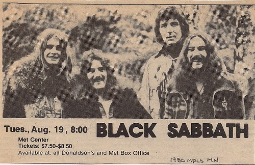 08-19-80 Black Sabbath @ Met Center, Bloomington, MN