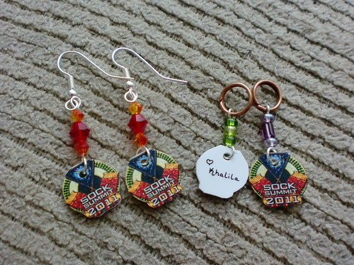 Sock Summit Stitch Markers