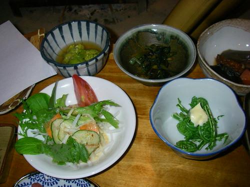 IMGP2478夕食(山菜)