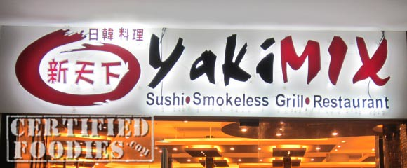 YakiMix Sushi Smokeless Grill Restaurant in Trinoma - CertifiedFoodies.com