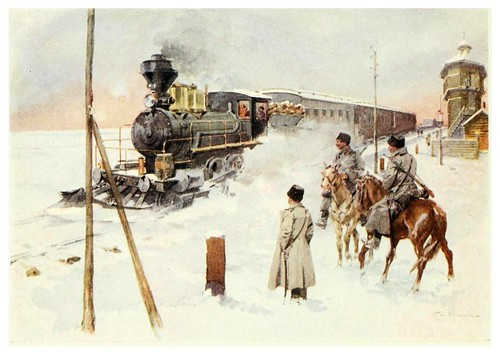 017-El ferrocarril transiberiano- Provincial Russia-1913- F. de Haenen