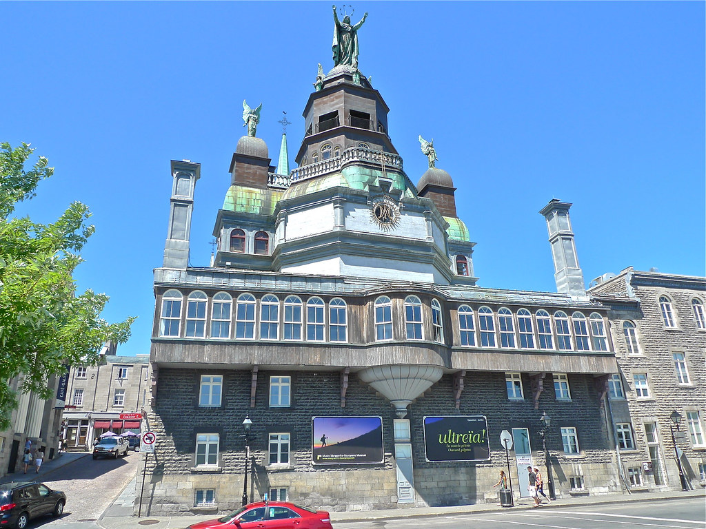 Copyright Photo: Notre-Dame-de-Bon-Secours Chapel ... Rear by Montreal Photo Daily, on Flickr