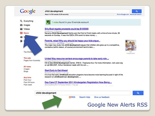 Blogging Tools - Google News Alerts