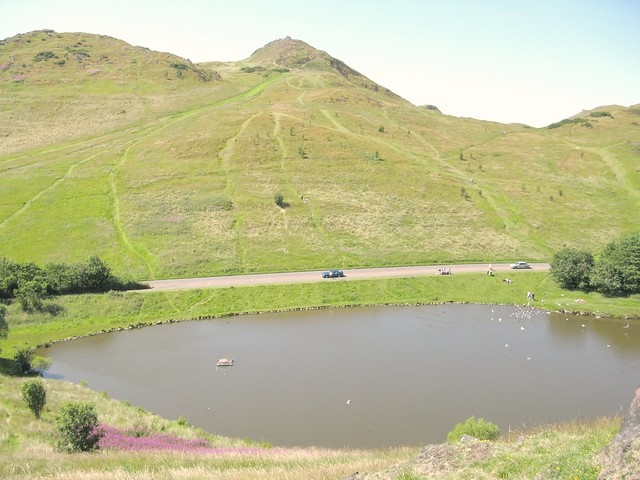 Arthur's Seat, Edinburgh... and I can never remember the name of this wee loch! | Emma Lamb