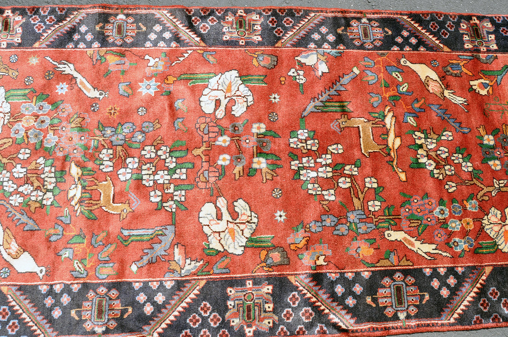 Roodbar Pictorial Rug