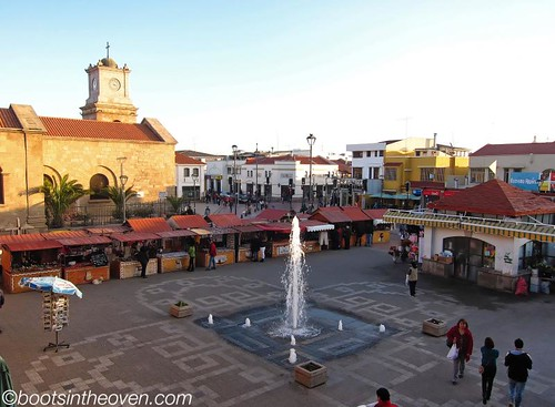 In front of La Serena's Market