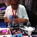 Peter Mayhew signing my picture :)
