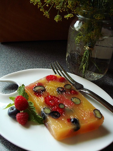Citrus-Berry Terrine: Summer Time